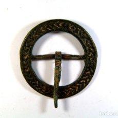 Monedas medievales: BONITA HEBILLA MEDIEVAL. Lote 195507800