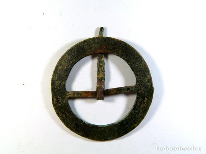 Monedas medievales: BONITA HEBILLA MEDIEVAL - Foto 2 - 195507800
