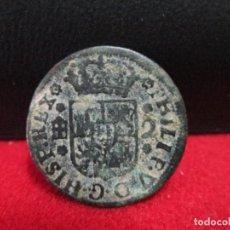 Monedas medievales: 2 MARAVEDIS 1746 FELIPE V SEGOVIA. Lote 202084655