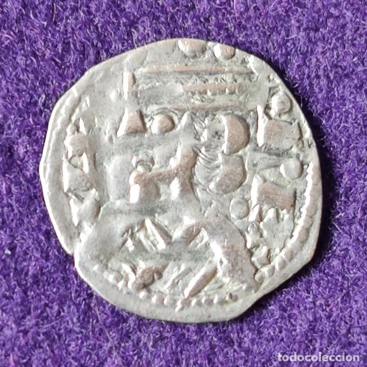 DINERO DE VELLON. ALFONSO VIII, REY DE CASTILLA. AÑOS 1158-1214. REINO DE CASTILLA. TOLEDO. (Numismática - Medievales - Castilla y León)