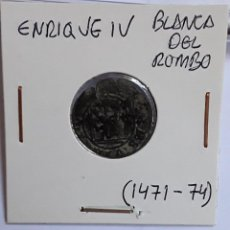 Monedas medievales: ENRIQUE IV BLANCA DEL ROMBO (1471-74). Lote 204730647