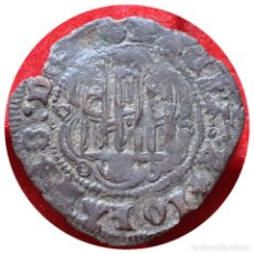 Monedas medievales: INTERESANTE BLANCA JUAN II BURGOS B. LEYENDA DEL ANVERSO IOHANES EMPIEZA A LAS 5 HORAS. Lote 204770103