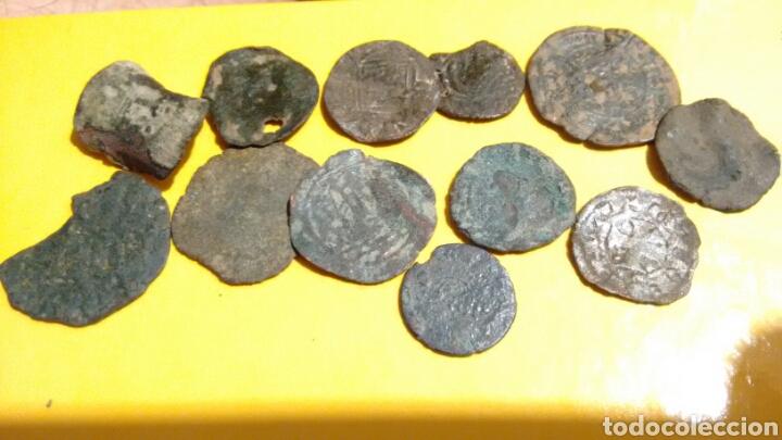 LOTE ESPAÑOLAS MEDIEVALES ? A CATALOGAR Y LIMPIAR (Numismática - Medievales - Castilla y León)