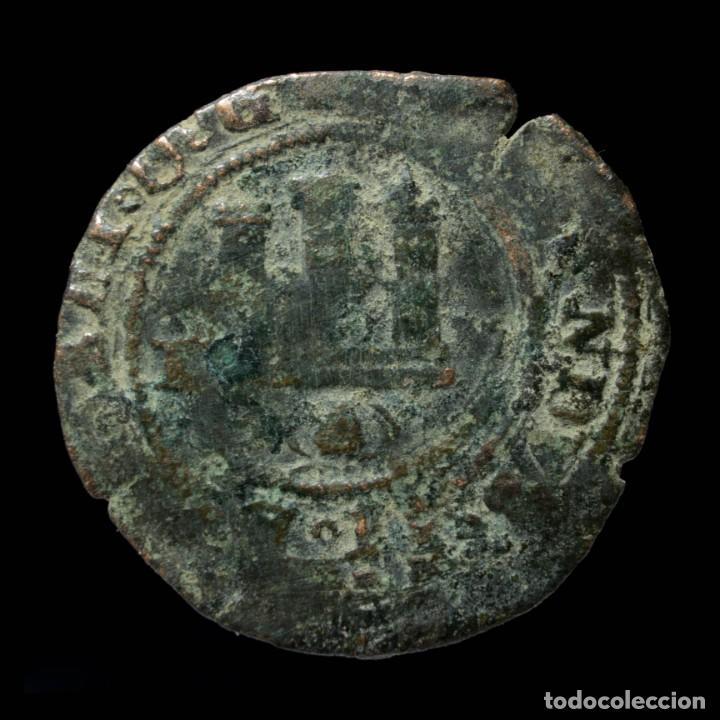 Reyes Católicos, 2 Maravedis de Toledo - 25 mm / 4.18 gr., usado segunda mano