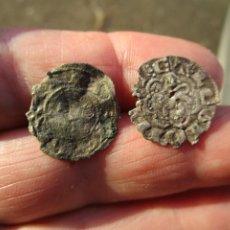 Monedas medievales: LOTE DE 2 VELLONES MEDIEVALES. Lote 205877431