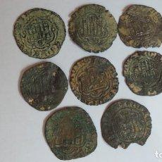 Monedas medievales: ENRIQUE III Y JUAN II, 8 BLANCAS. Lote 206755671