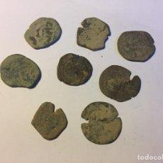 Monedas medievales: LOTE DE 8 MONEDAS RESELLOS. Lote 207066597