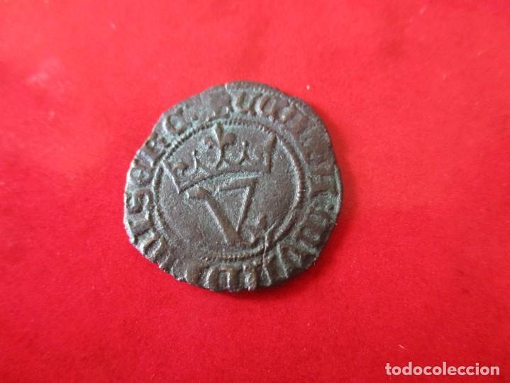 BLANCA DEL AGNUS DEI. JUAN I. SEVILLA. #MN (Numismática - Medievales - Castilla y León)