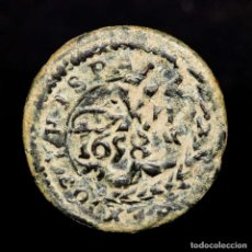 Monedas medievales: 4 MARAVEDIS FELIPE III. (1598-1621) - RESELLADO 1658 PHILIP IV. Lote 210174382