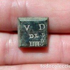 Monedas medievales: EXTRAORDINARIO PONDERAL MEDIEVAL SIGLO XVIII. PONDERAL DE FLORIN. Lote 210556116