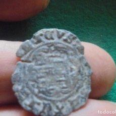 Monedas medievales: CURIOSA BLANCA DE ENRIQUE CON UN RESELLO DE 3 PUNTOS. Lote 211396805
