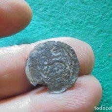 Monedas medievales: CURIOSA BLANCA DEL ROMBO CON UN RESELLO DE UNA C. Lote 211396892