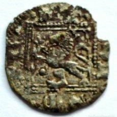 Monedas medievales: NOVEN DE VELLON ENRIQUE II CECA DE SANTIAGO DE COMPOSTELA?. Lote 211584495