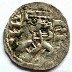 Monedas medievales: CASTILLA Y LEON DINERO ALFONSO VIII ESTRELLA Y B CECA DE BURGOS. Lote 211585865