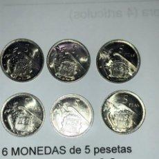 Monedas medievales: LOTE Nº 16 ---6 MONEDAS SC. Lote 211622027