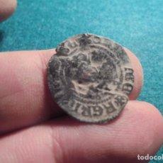 Monedas medievales: CURIOSA MONEDA MEDIEVAL CON UN RESELLO. Lote 212832390