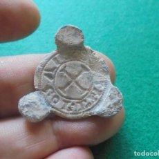 Monedas medievales: BONITO Y ESCASO PLOMO MEDIEVAL A IDENTIFICAR. Lote 212852097
