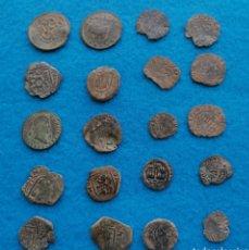 Monete medievali: LOTE DE 20 MONEDAS ANTIGUAS. Lote 212957490