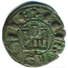 Monete medievali: XS- CASTILLA Y LEÓN FERNANDO IV (1295-1312) DINERO NOVÉN CORUÑA CECA ESCASA. Lote 213133182
