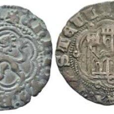 Moedas medievais: ENRIQUE III. SEVILLA. BLANCA. 1390-1406. MBC Y EBC-. LOTE DE DOS PIEZAS 2. Lote 215203156