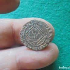 Monedas medievales: BONITA BLANCA DEL ROMBO DE ENRIQUE IV , C Y DEBAJO CUENCO. Lote 215269365