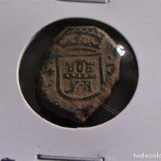 Monedas medievales: DOS MARAVEDIS DE CARLOS-II CECA CORUÑA 1685. Lote 215914315