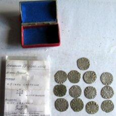 Monedas medievales: FERNANDO IV - 13 D- B--ARRAS- EN UNA CAJITA ANTIGUA. Lote 216419718