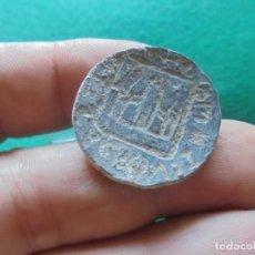 Monedas medievales: BONITO Y CURIOSO SELLO MEDIEVAL , CON UN CASTILLO. Lote 217018888