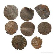 Monedas medievales: CURIOSO LOTE DE COBRES MEDIEVALES. 27-L. Lote 221610430