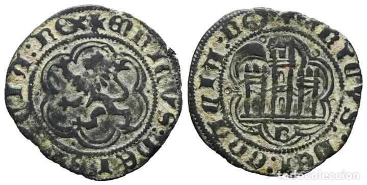 *** MUY BONITA BLANCA DE ENRIQUE III (EL DOLIENTE) 1390-1406 BURGOS -B- *** (Numismática - Medievales - Castilla y León)