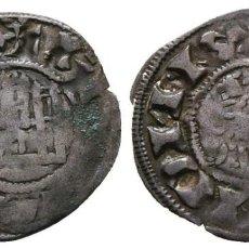 Monedas medievales: *** BONITO DINERO DE FERNANDO IV (1295-1312) MARCA DE CECA 3 PUNTOS BAJO EL CASTILLO ***. Lote 221753351