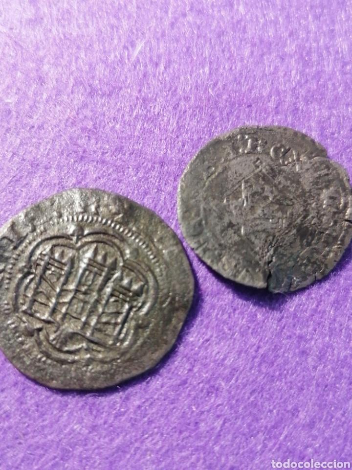 ENQUIRE III DOS MONEDAS CORUÑA Y BURGOS (Numismática - Medievales - Castilla y León)