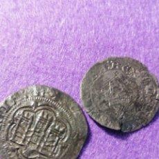 Moedas medievais: ENQUIRE III DOS MONEDAS CORUÑA Y BURGOS. Lote 221822316