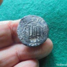 Monedas medievales: INTERESANTE MONEDA MEDIEVAL PORTUGUESA CON UN RESELLO A IDENTIFICAR. Lote 222016517