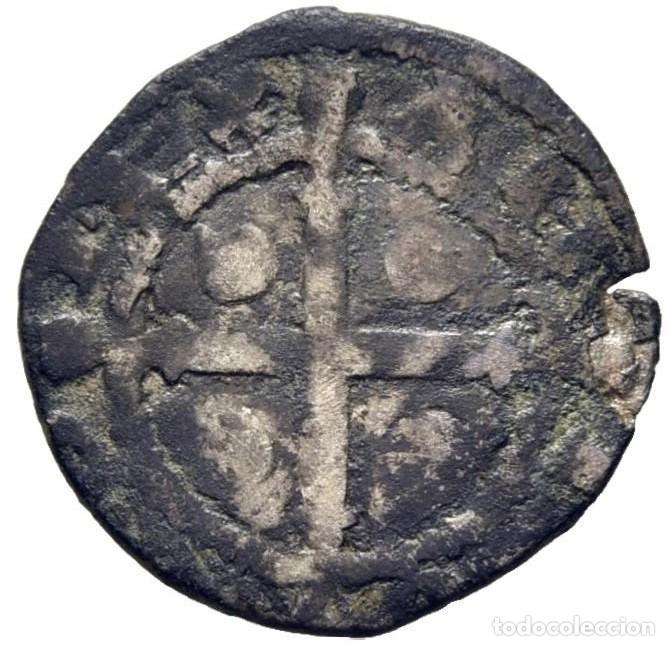 Monedas medievales: Alfonso IX. 1188-1230. Dinero. Coruña. C delante del León. Cy1082 (150 €). MBC. MUY RARA - Foto 2 - 222082752