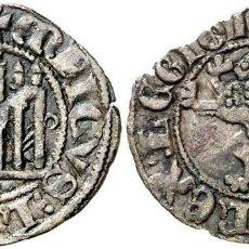 Monedas medievales: ENRIQUE III (1390-1406). BURGOS. MEAJA CORONADA. (AB. 611, COMO SEISÉN). 0,58 G. RARA. EBC.. Lote 222704051
