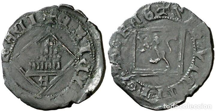 ENRIQUE IV (1454-1474). ÁVILA. BLANCA DE ROMBO. (AB. 827). 1,19 G. MBC+ (Numismática - Medievales - Castilla y León)