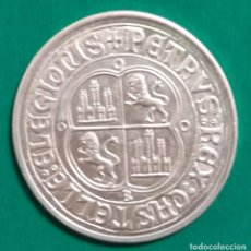 Monedas medievales: MONEDA DE PEDRO I EL CRUEL DE CASTILLA PLATA *. Lote 225780580