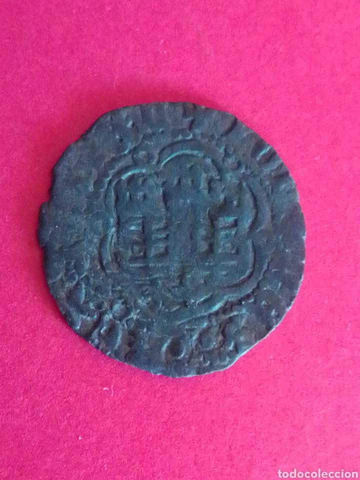Monedas medievales: REINO DE CASTILLA Y LEÓN. BLANCA DE JUAN II. - Foto 2 - 226016480
