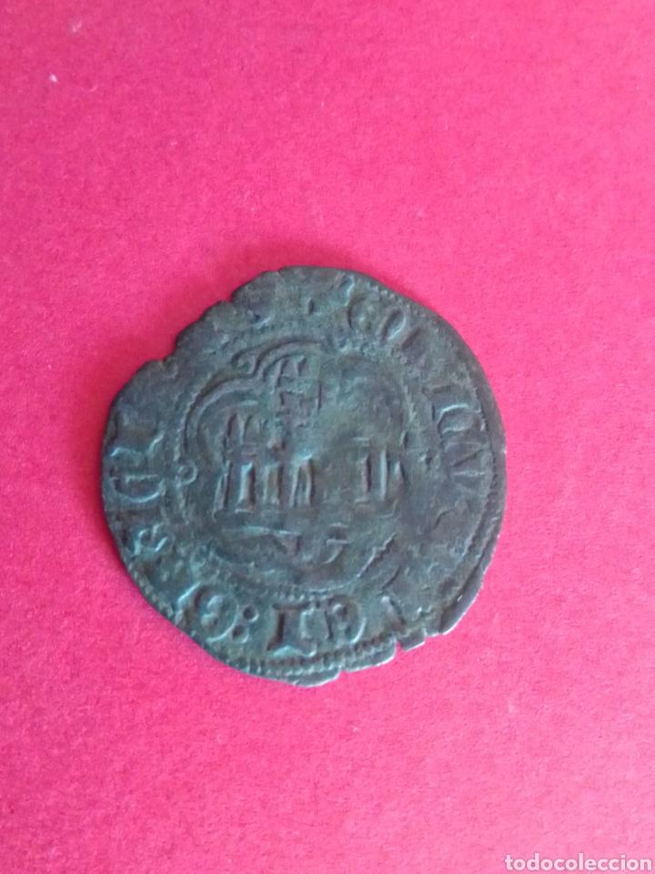 Monedas medievales: REINO DE CASTILLA Y LEÓN. ENRIQUE IV. BLANCA. - Foto 2 - 226017060