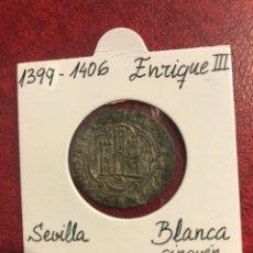 Monedas medievales: MONEDA MEDIEVAL DE ENRIQUE III CECA SEVILLA. Lote 234744850
