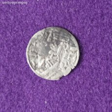 Monedas medievales: DINERO DE VELLON. ALFONSO VIII, REY DE CASTILLA. AÑOS 1158-1214. TOLEDO. DOS PUNTOS ENTRE * *.. Lote 234890760