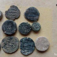 Monedas medievales: LOTE DE 10 FELUSES ARABES Y 1 PLOMO.. Lote 236953565