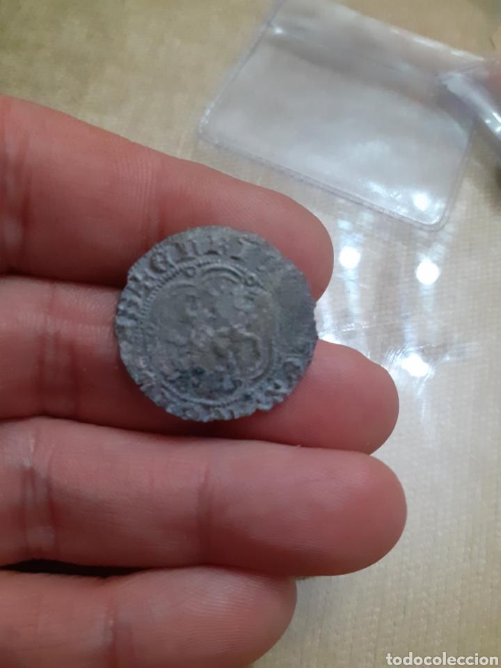 MONEDA MEDIEVAL A CATALOGAR ,LEVE DOBLEZ PUEDE SER RARA REF77 (Numismática - Medievales - Castilla y León)
