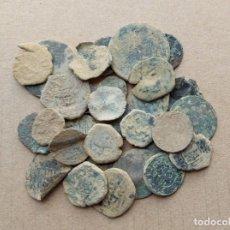 Moedas medievais: LOTE DE 30 MONEDAS ANTIGUAS PARA LIMPIAR E IDENTIFICAR. Lote 241030270