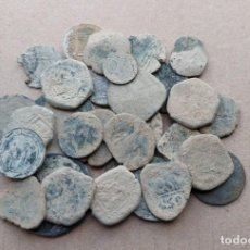Moedas medievais: LOTE DE 30 MONEDAS ANTIGUAS PARA LIMPIAR E IDENTIFICAR. Lote 241030360