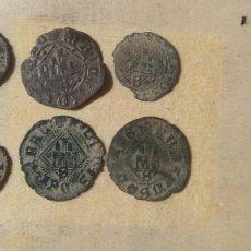 Monedas medievales: BONITO LOTE DE 6 MONEDAS MEDIEVALES.. Lote 243059185