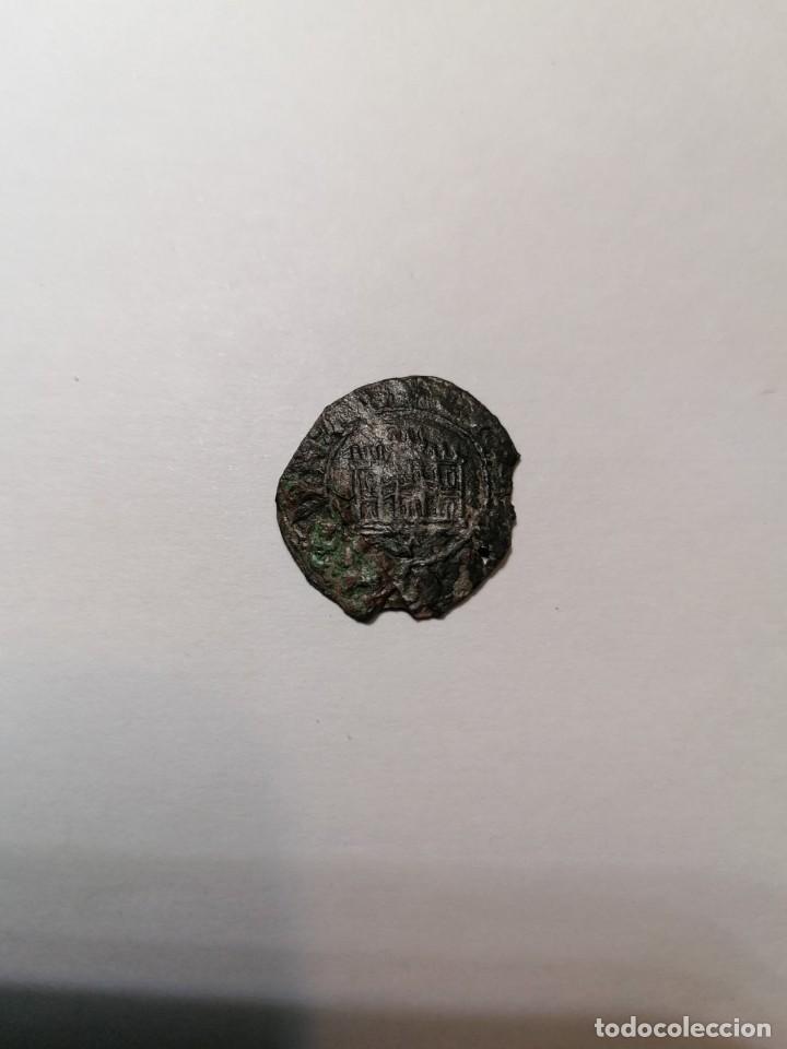 Monedas medievales: RARISIMO MEDIO CUARTILLO DE CORUÑA , ENRIQUE IV - Foto 2 - 244601235