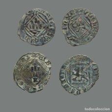 Monedas medievales: ESPAÑA - LOTE 2 MONEDAS - ENRIQUE IV, CUENCA Y BURGOS. 242-L. Lote 244750265
