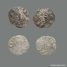 Monedas medievales: DINERO DE ALFONSO I DE ARAGÓN 1109-1126 TOLEDO, 2 PIEZAS. 241-L. Lote 244750285
